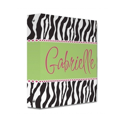 Zebra Binder - Binders and Journals
