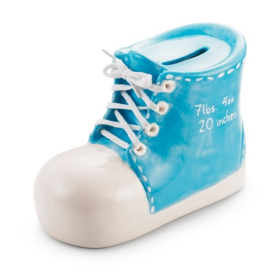 Boy's Bootie Hand-painted Bank - $25.00