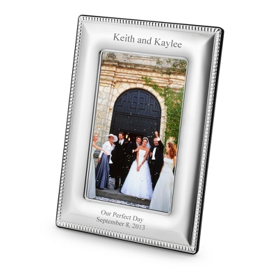 Sterling Silver Picture Frames Engraved Wedding - 6 products