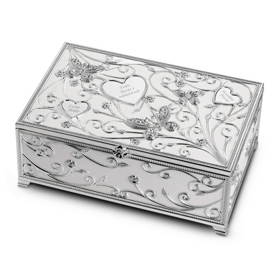 Butterfly Pave Keepsake Box
