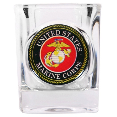 Marine Corps Shot Glass - Military Gifts