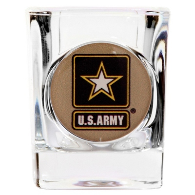 Army Shot Glass