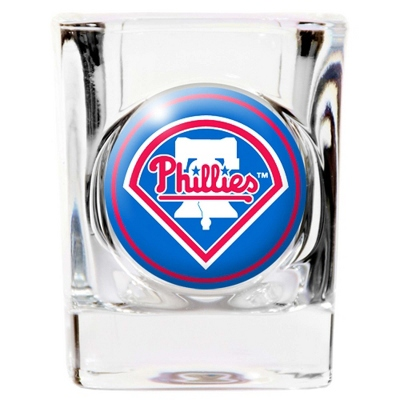 Philadelphia Phillies Shot Glass - UPC 825008305175