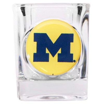 University of Michigan Shot Glass