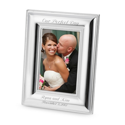 Portrait Double Beaded 4x6 Frame