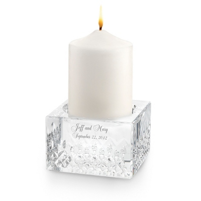 Waterford Lismore Essence Pillar Candle - UPC 825008305724