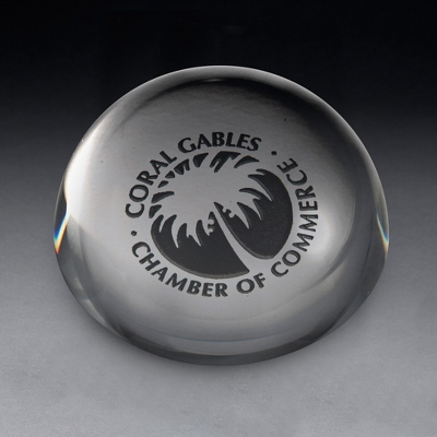 Magnifier Paperweight Award - Awards & Plaques