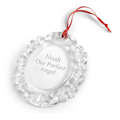 Crystal Portrait Ornament - $9.99