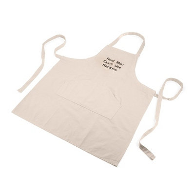 Oatmeal Cinched Apron - Kitchen Gifts