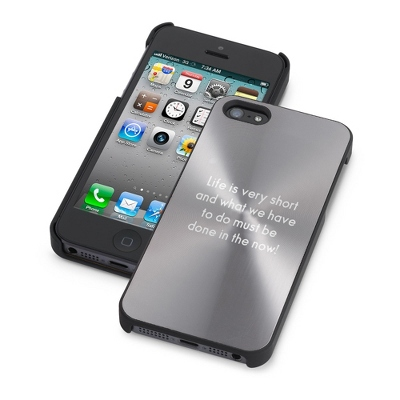 Personalized Gunmetal iPhone 5 Case