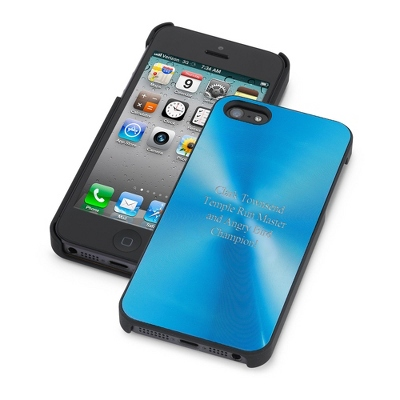 Blue iPhone 5 Case - UPC 825008306851