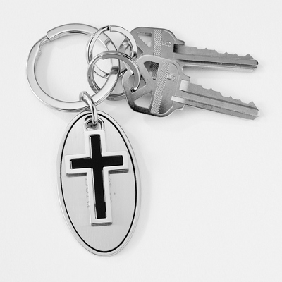 Religious Cross Key Chain