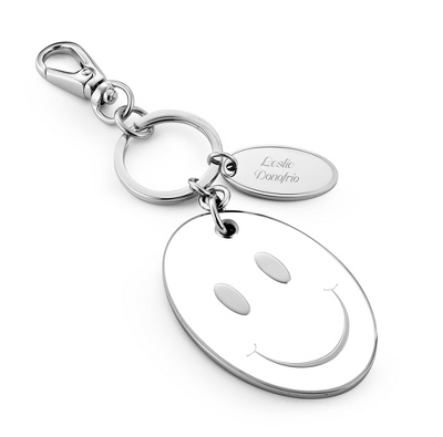 Big Smiley Key Chain - Purse Accessories