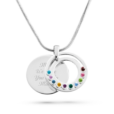 Family Jewelry 10 Birthstones