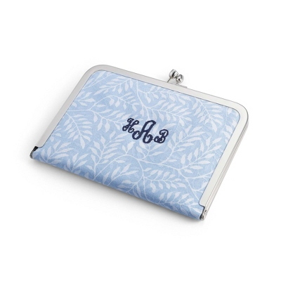 Blue Photo Clutch - Totes & Accessories