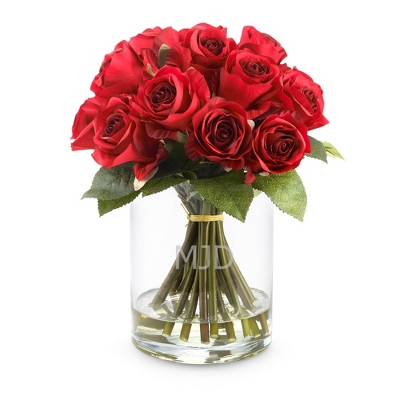 Red Roses Floral Arrangement - Vases & Floral Arrangements