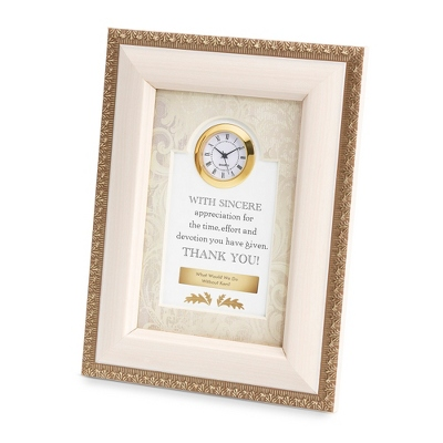 Sincere Appreciation Frame Clock