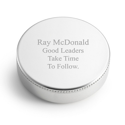 Personalized Paper Weight Gifts