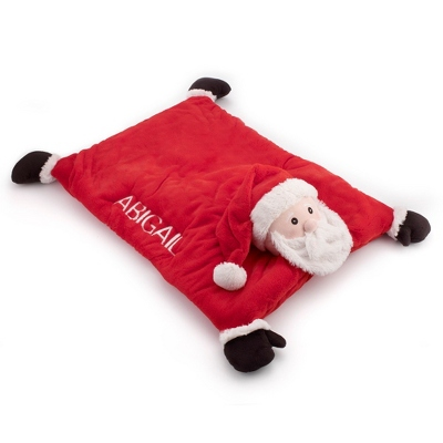 Santa Baby Belly Mat - Receiving Quilts & Belly Mats
