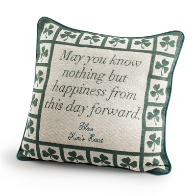Irish Prayer Pillow