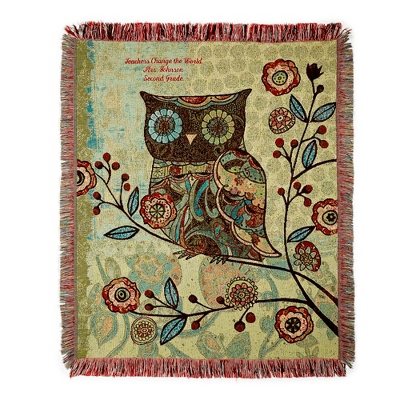 Nature's Wisdom Throw