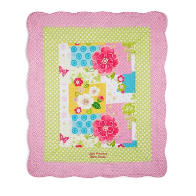 Pretty in Pink Quilt - Kid's Blankets & Throws
