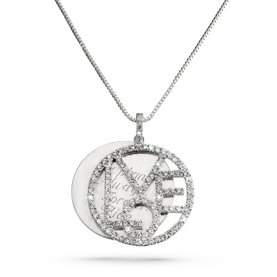 Love Necklace with complimentary Filigree Heart Box