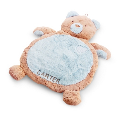 Blue Bear Baby Belly Mat