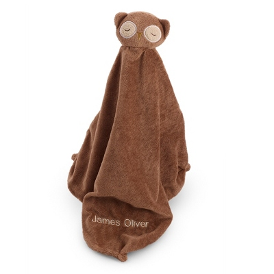 Brown Owl Mini Blankie - $9.99