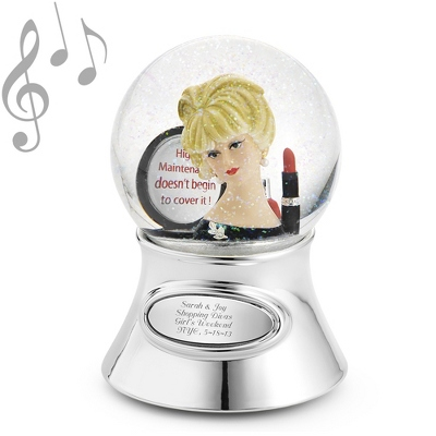 Personalized Best Friend Water Globes - 4 products