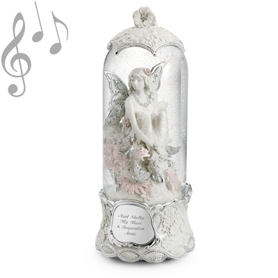 Garden Fairy Musical Water Globe