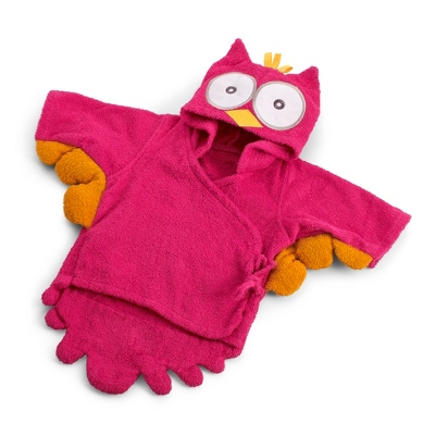 My Little Night Owl Pink Robe