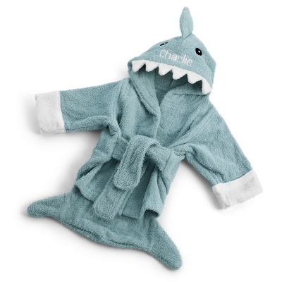 Hooded Shark Robe - UPC 825008309760