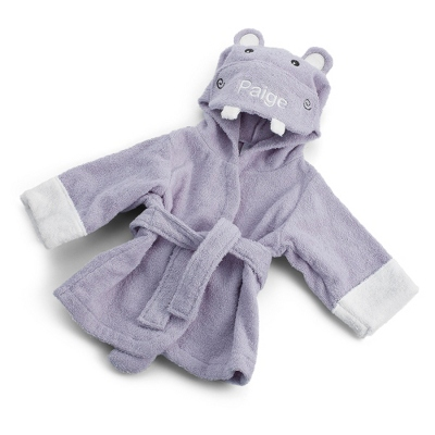 Hooded Hippo Robe - UPC 825008309807