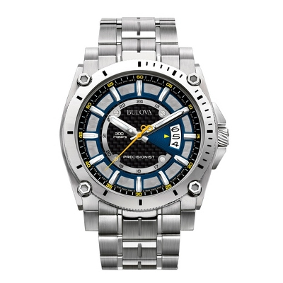 Men's Bulova Precisionist Champlain Watch 96B131 - UPC 42429465022