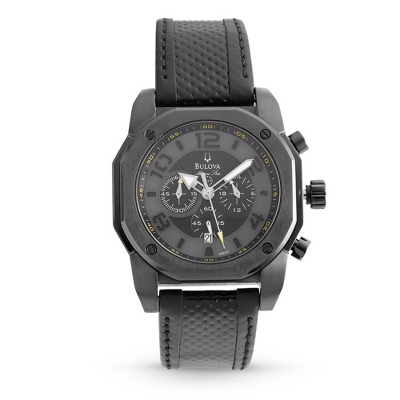 Men's Bulova Marine Star Black on Black Watch 98B151