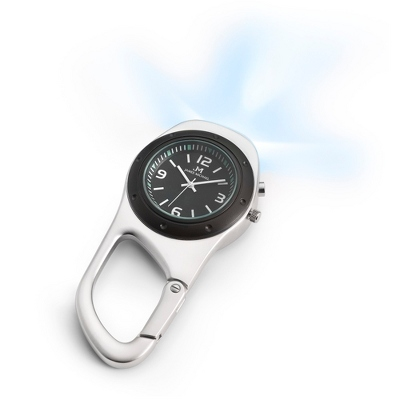 LED Light Clip Watch