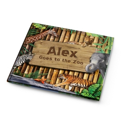 Goes To The Zoo Book - UPC 825008316416