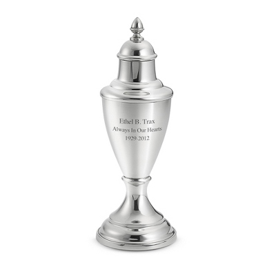 Pewter Keepsake Victorian Urn