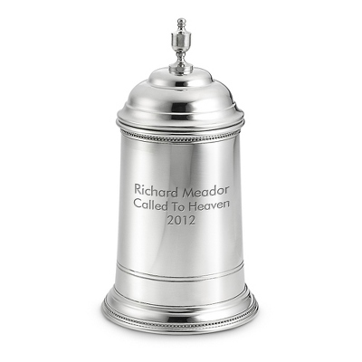 Pewter Keepsake Colonial Urn