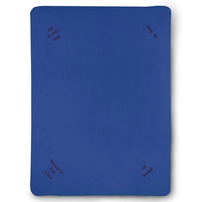 Multi Corner Royal Fleece Blanket