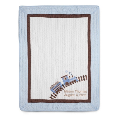 Personalized Quilt for Baby Boy - 24 products