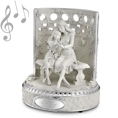 Mother & Daughter Musical Figurine