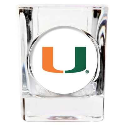 University of Miami Shot Glass