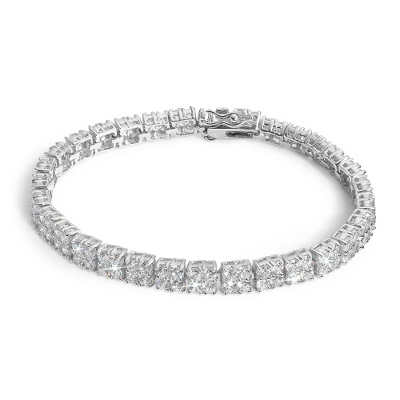 CZ Multi-Stone Tennis Bracelet - Bridal Jewelry
