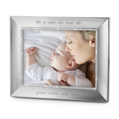 Landscape Midnight Chrome 8x10 Frame - Wedding Frames & Albums