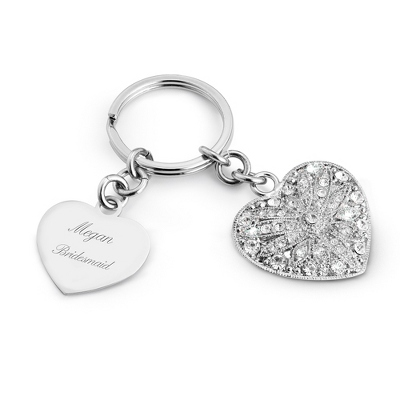 Park Avenue Heart Key Chain - Purse Accessories