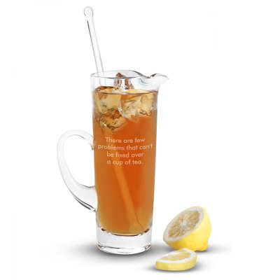 Tall Pitcher with Stirrer