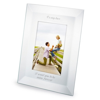 Portrait Mirror 5x7 Frame - Wedding Frames & Albums