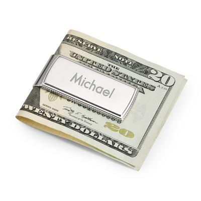 Platinum Plated Money Clip - Money Clips & Wallets